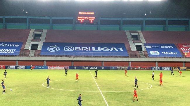Hasil BRI Liga 1 2021: Persiraja vs Arema FC Singo Edan Menang 0-2, Singo Edan Geser Persija Jakarta
