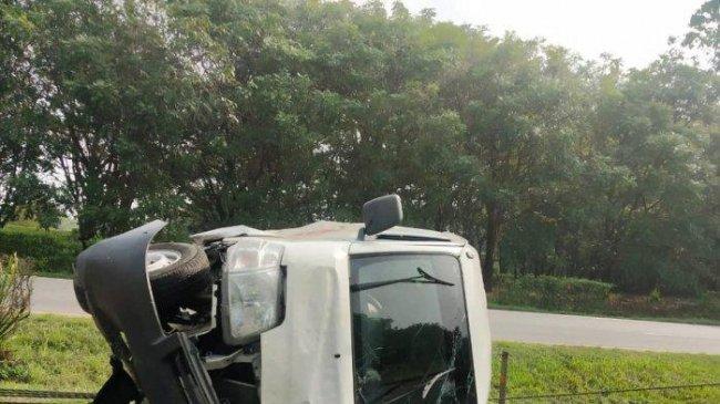 4 Bus Rombongan Peziarah Kecelakaan di Tol Tangerang-Merak: 1 Orang Meninggal, 17 Luka-luka