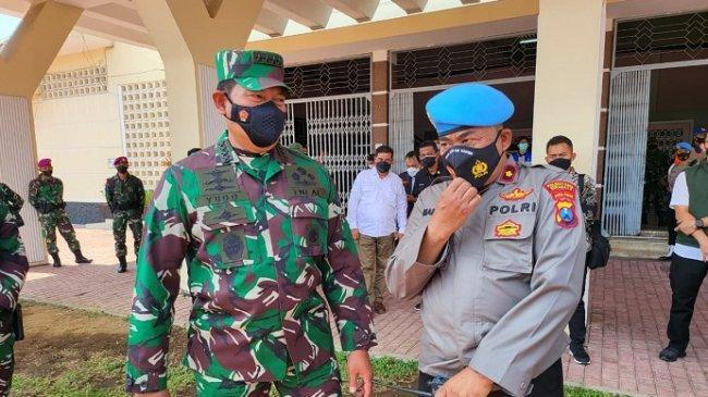 Momen Laksamana TNI Yudo Tak Sengaja Bertemu Sahabat Masa Kecilnya yang Kini Jadi Polisi