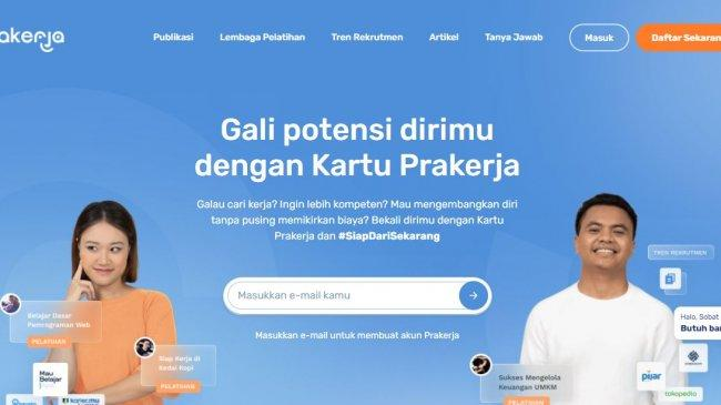 Cek Dashboard www.prakerja.go.id untuk Pilih Pelatihan Kedua, Ini Tips Memilih Pelatihan