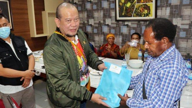 Kepala Suku di Papua Dukung LaNyalla Lanjutkan Program Jokowi di Bumi Cenderawasih