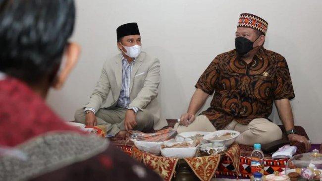 Ketika Nasi Lakkai Jadi Jamuan Ketua DPD RI yang Bertandang ke Rumah Bupati Lampung Barat