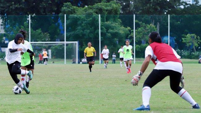 Jebolan Sampdoria Tangani Kiper Timnas Wanita Indonesia