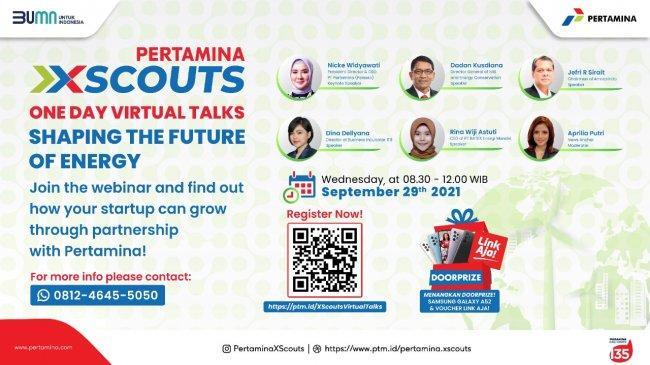 Dorong Percepatan Pertumbuhan Start Up Energi di Indonesia, Pertamina Luncurkan XScouts