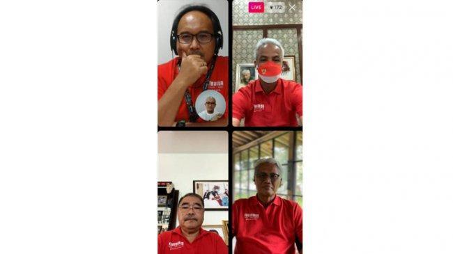 Kata Ganjar Pranowo Soal Gelaran Borobudur Marathon 2021 pada 27-28 November