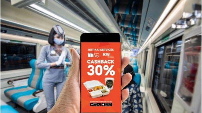 ShopeePay Bersama PT Reska Multi Usaha (KAI Services) Hadirkan Pembayaran QRIS di Dalam Kereta Api
