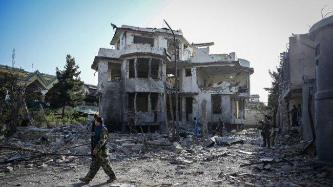 Ledakan Dahsyat Diikuti Tembakan Sporandis Guncang Ibu Kota Afghanistan Dekat Zona Hijau