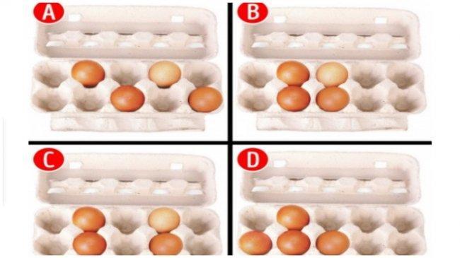 Tes Kepribadian - Letak Telur yang Dipilih Dapat Ungkapkan Kelebihanmu yang Tersembunyi