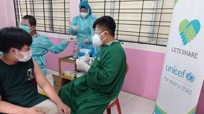 Let's Share Gelar Vaksinasi Covid-19 Massal di Kabupaten Bekasi
