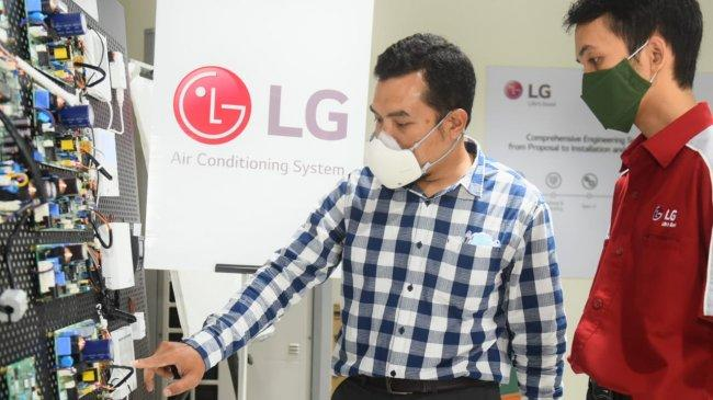 LG Indonesia Kini Punya Air Conditioning Academy untuk Pacu Kompetensi Mekanik AC