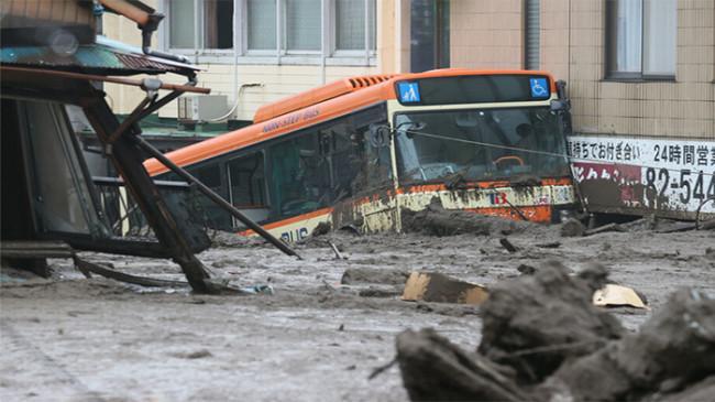 Longsor di Shizuoka Jepang, 2 Korban Tewas, 12 Lainnya Masih Hilang