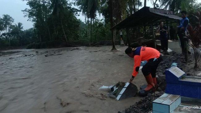 Lima Desa di Tanggamus Terdampak Banjir, Dua Rumah Warga Rusak Berat