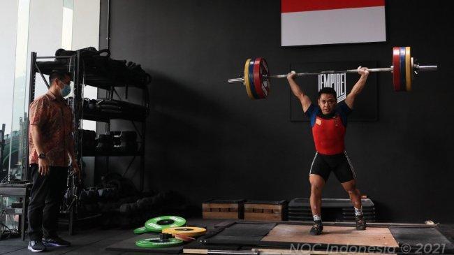 Pelatih Eko Yuli Irawan Ini Merasa Kagum dengan Pelayanan NOC Indonesia Selama di Olimpiade Tokyo