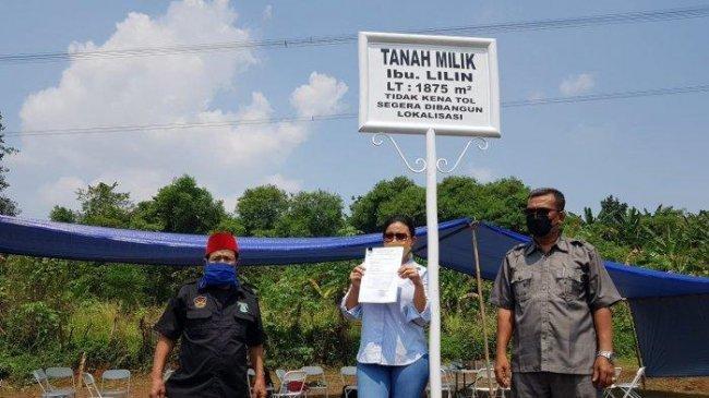 Warga Limo Diduga Jadi Korban Mafia Tanah, Lahan Diserobot Perusahaan Properti
