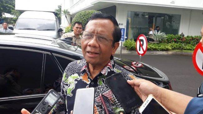 Penjalasan Mahfud MD Soal Bertambahnya Jumlah Eks ISIS Asal Indonesia Jadi 699 Orang