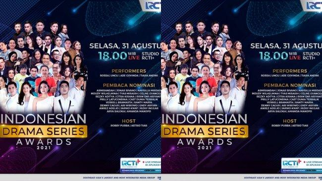 Malam Penghargaan Indonesian Drama Series Awards 2021 Siap Hadir Malam Ini