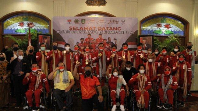Malam Apresiasi Atlet Indonesia Usai Tampil di Paralimpiade Tokyo 2020, Disporapar: Kami Bangga!