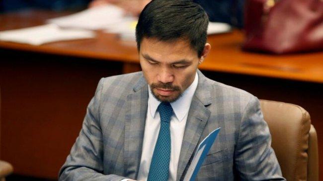 Pemilu Filipina Tahun Depan, Petinju Manny Pacquiao Calonkan Diri Jadi Presiden