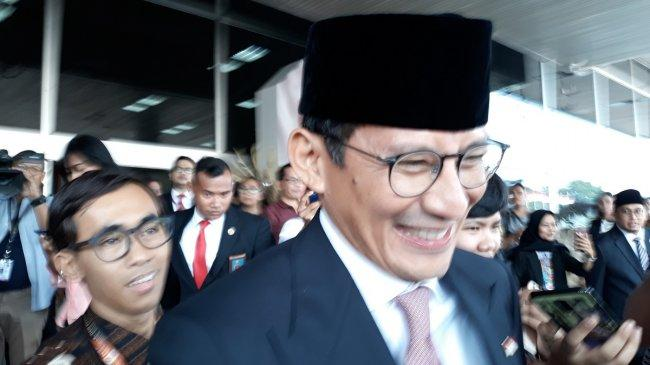 Ucapan Selamat Sandiaga Uno untuk Jokowi-Maruf
