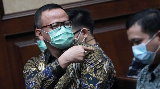Dalam Pleidoinya, Edhy Prabowo Minta Maaf ke Jokowi dan Prabowo Subianto