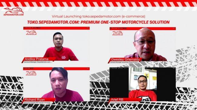 Garap Brand Premium, PT Sepeda Motor Indonesia Resmi Terjun di Bisnis E-Commerce