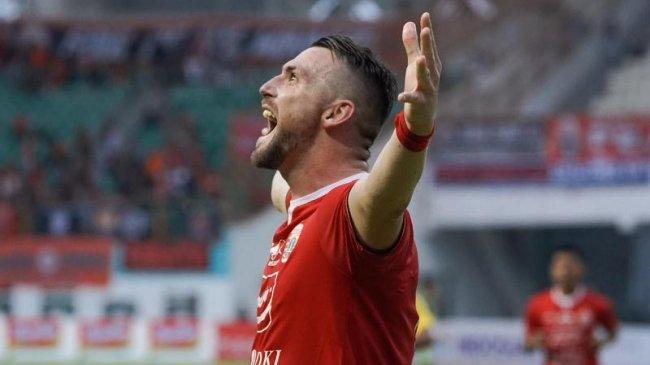 Hasil Babak Pertama Persija vs Persela: Penalti Simic Bawa Macan Kemayoran Unggul 1-0
