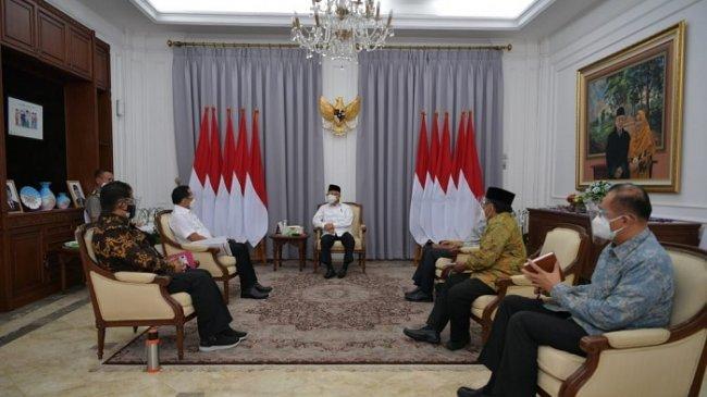 Temui Wakil Presiden Ma'ruf Amin, Mendagri Laporkan Konsep Rancangan PP Terkait Otsus Papua
