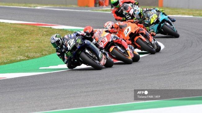 Jadwal MotoGP 2021 Live Trans7 - Krisis Kemenangan Valentino Rossi Diklaim Bukan karena Faktor Usia