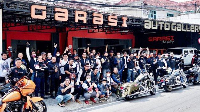 Motor Besar Club Yogyakarta Kukuhkan Kepengurusan Baru