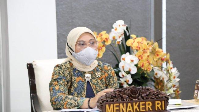 PPKM Darurat, Menaker Ida Minta PekerjaKomorbid, Ibu Hamil, dan Menyusui Bekerja WFH