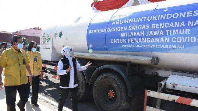 Bantu Penanganan Pandemi, KAI Gratiskan Angkutan Oksigen Sebanyak 122 Ton