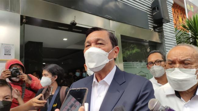 Luhut Diperiksa 1 Jam terkait Laporannya terhadap Aktivis HAM: 'Biarlah Dibuktikan di Pengadilan'