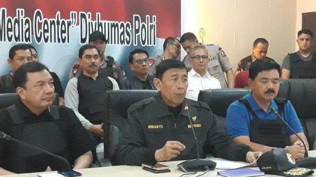 Wiranto: Peristiwa di Mako Brimob Mengganggu Stabilitas Negara