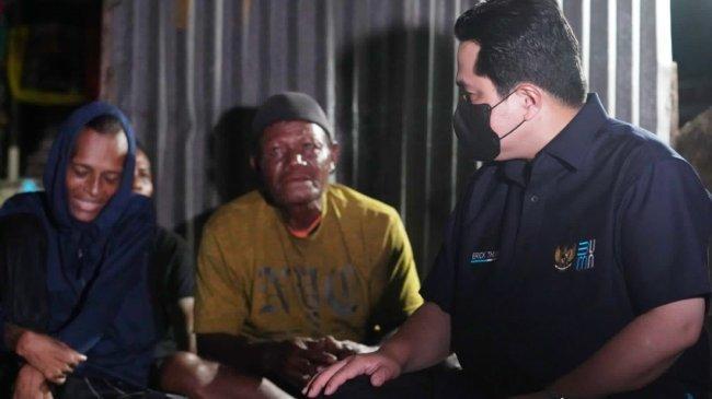 Erick Thohir Semangati Jacklien Ibo dan Jamin Pengobatan Selama Dirawat di Rumah Sakit