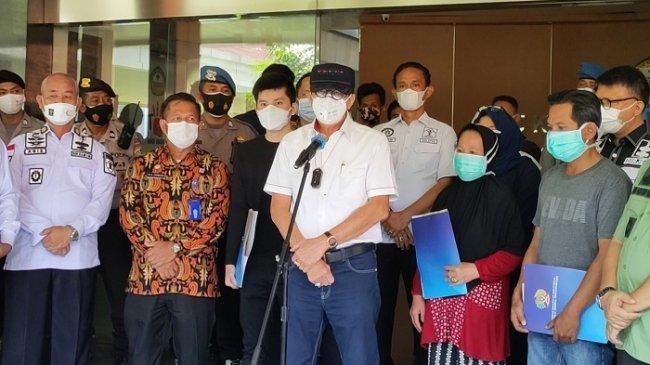 Dijenguk Menkumham Yasonna Laoly, Korban Kebakaran Lapas Kelas I Tangerang Mengaku Trauma