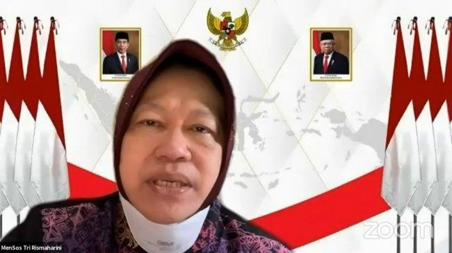 Mensos Minta Pos Indonesia dan Himbara Kalteng Segera Tuntaskan Penyaluran Bansos