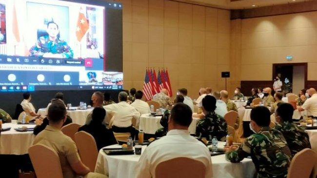 Asops Panglima TNI Tutup Latihan Bersama Staf TNI dan USINDOPACOM Gema Bhakti 2021