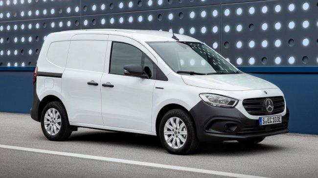 Van Mercedes Citan Terbaru Akan Datang dengan Penggerak Tenaga Listrik