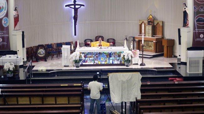 Jadwal Live Streaming Misa Online Sabtu Minggu 9-10 Oktober 2021, Link Berbagai Katedral