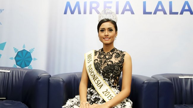 Miss Indonesia 2015 Maria Harfanti Dukung Kampanye Stop Bullying Bibir Sumbing!