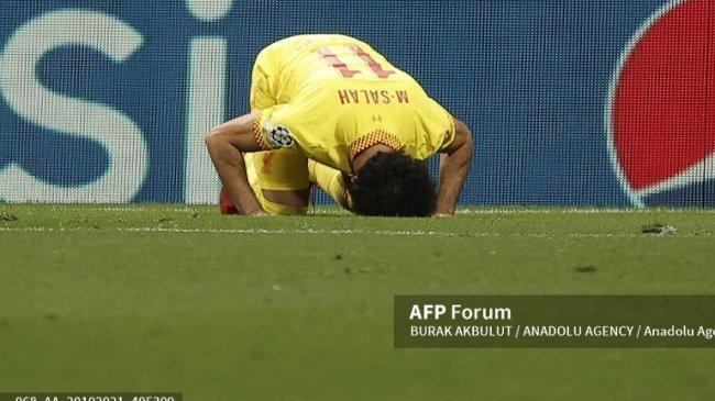 Malam Penuh Rekor Bagi Mohamed Salah Saat Liverpool Taklukkan Atletico, Cetak Gol di 9 Laga Beruntun