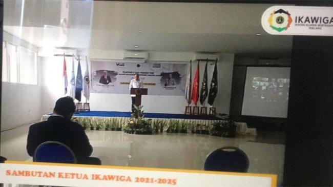 Pimpinan Japnas Jawa Timur Dilantik Jadi Ketua Ikawiga Malang 2021-2026