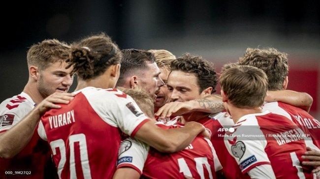 Hasil Bola Tadi Malam, Pecundangi Skotlandia, Kesempurnaan Langkah Denmark di Kualifikasi PD 2022
