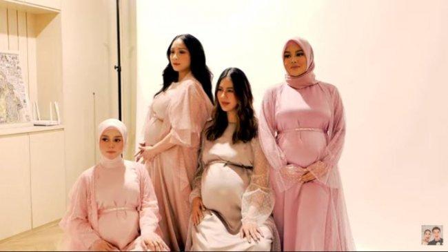 8 Potret Maternity Paula Verhoeven Bersama Nagita Slavina, Aurel Hermansyah dan Lesti Kejora