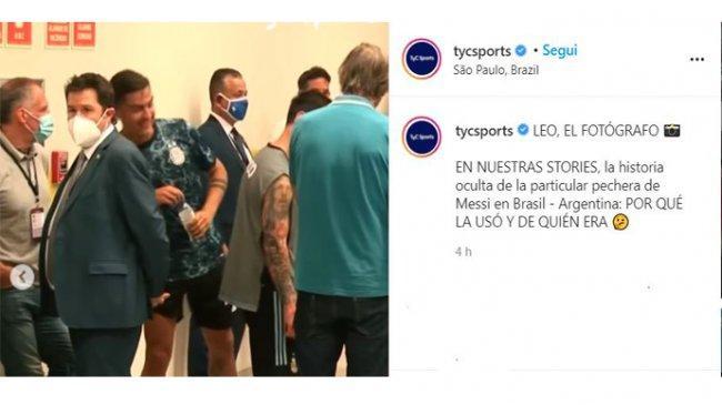VIDEO, Paulo Dybala Tertawakan Lionel Messi Saat Laga Brasil Vs Argentina Digeruduk Satgas Kesehatan