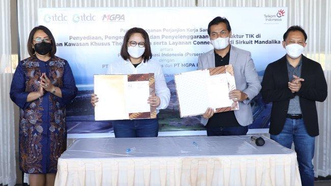 Telkom dan ITDC Siap Dukung Digitalisasi Mandalika Jadi Destinasi Wisata Kelas Dunia