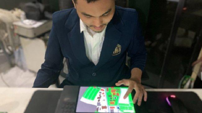Mahasiswa Magister Brawijaya Ini Buat Aplikasi Peta untuk Penyandang Tunanetra