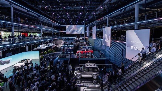 Mercedes-Benz Pamer 5 Kendaraan Listrik di Munich Auto Show 2021