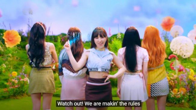 Lirik Lagu Queendom - Red Velvet Beserta Terjemahannya dalam Bahasa Indonesia