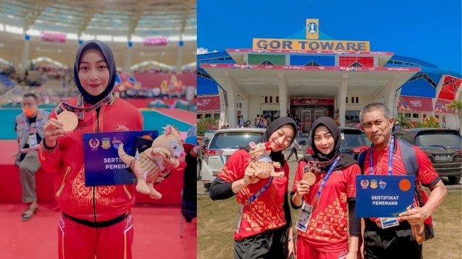 Kisah Atlet Pencak Silat Nadia Haq Umami, Peraih Perunggu di PON Papua, Tahu Hamil Jelang Semi Final